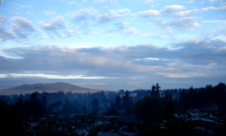 Morgon i Addis